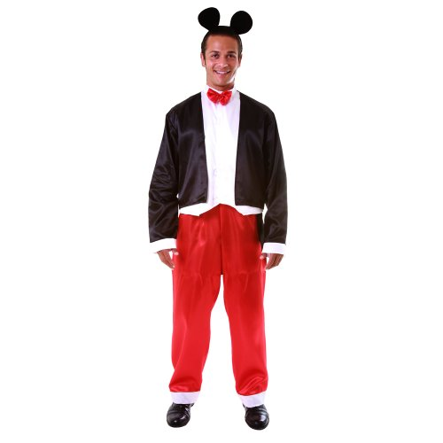 Dress Up America Adult Mr. Mouse, Multi-Colored, XX-Large