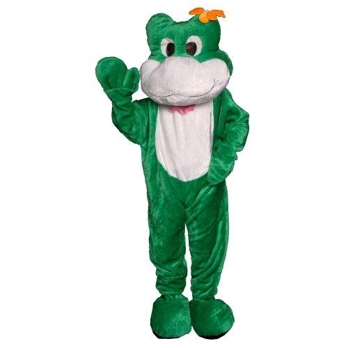 Dress Up America Frog Mascot, Green, One Size