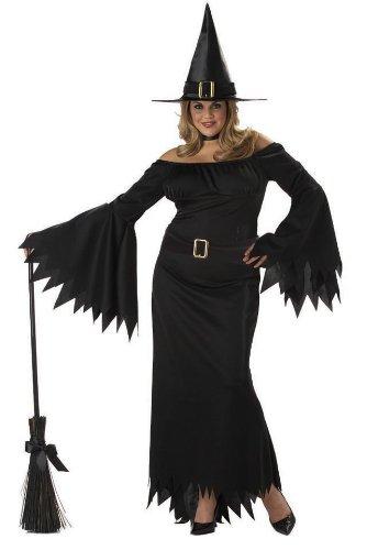 Elegant Witch Plus Costume Size 3XL