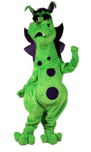 Fang Dragon Mascot Costume