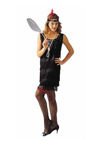 Flapper – Black, Standard Costume