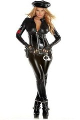 Forplay-Classified-Jumpsuit-Handcuffs-Gloves-Black-SmallMedium-0