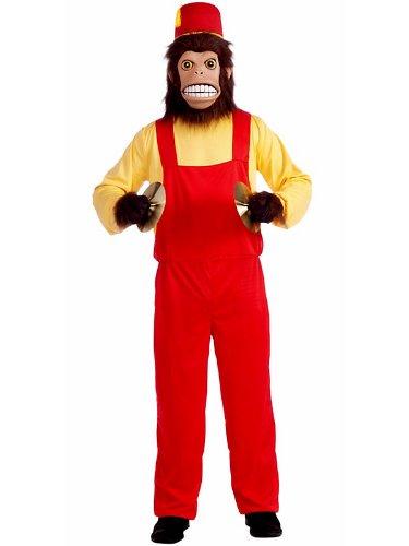 Forum Clash The Monkey Costume, Brown, Standard