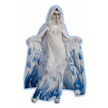 Forum Novelties Women's Ghostly Soul Seeker Costume, White, Standard