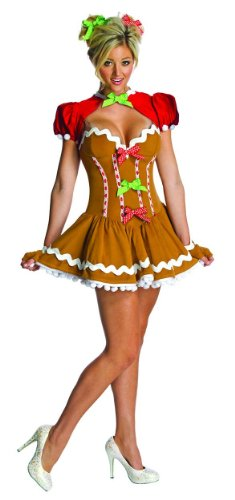 Ginger Gingerbread Adult Costume Size Medium