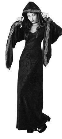 Rubie's Costume Adult Midnight Priestess Costume, Large, Black