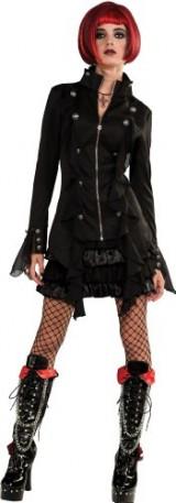 Rubies-Costume-Bloodline-Sweet-Revenge-Gothic-Jacket-and-Skirt-Black-Large-Costume-0