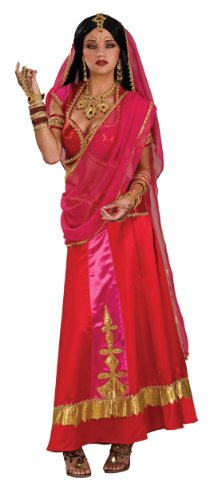 Rubie's Costume Bollywood Beauty Costume, Red/Pink/Gold, Standard