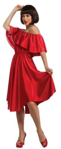 Rubie's Costume Co Women's Saturday Night Fever Dress, Red, Standard