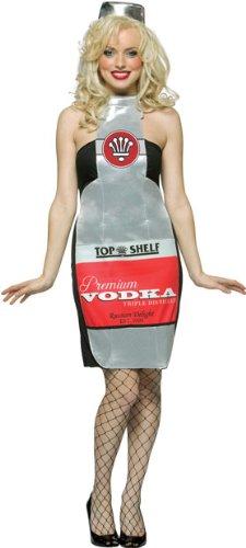 womens sexy vodka bottle halloween costume size standard