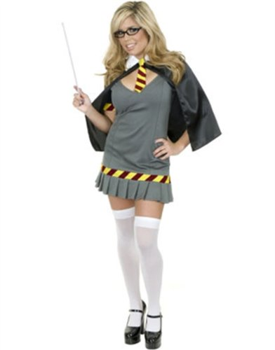 Women S Xl 14 16 Sexy Naughty Wizard Hermione Costume Go Halloween