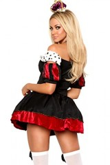 3Pc-Royal-Queen-Sexy-Holiday-Party-Costume-BlackRedLarge-0-0