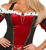 3Pc-Royal-Queen-Sexy-Holiday-Party-Costume-BlackRedLarge-0-2