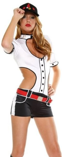 Baseball-Cutie-Sexy-Costume-by-Forplay-White-ML-0
