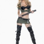 Be-Wicked-Costumes-Womens-Sexy-Border-Patrol-Police-Costume-Green-MediumLarge-0