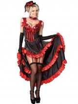 Can-Can-Costume-Dress-Sexy-Classic-Dancer-Western-Womens-Theatrical-Costume-Sizes-Medium-0