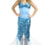Charades-Sexy-Blue-Sequin-Mermaid-Dress-Halloween-Costume-L-0