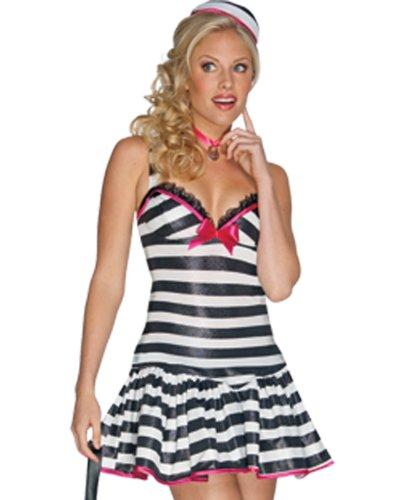 Convicted-Cutie-Womens-Halloween-Convict-Costume-sz-S-0