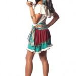 Delicious-Womens-Gypsy-Rose-Sexy-Costume-Turquoise-SmallMedium-0