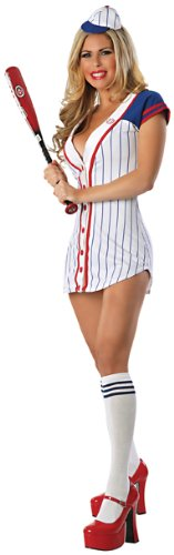 Delicious-Womens-Homerun-Hottie-Sexy-Costume-WhiteBlueRed-LargeX-Large-0