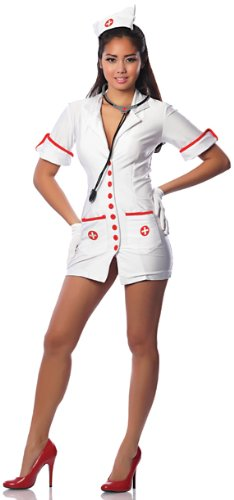 Delicious-Womens-Hospital-Hottie-Sexy-Costume-WhiteRed-X-SmallSmall-0