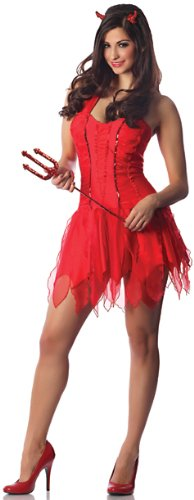 Delicious-Womens-Inferno-Sexy-She-Devil-Costume-Red-MediumLarge-0