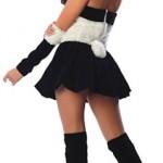 Delicious-Womens-Panda-Babe-Sexy-Costume-BlackWhite-LargeX-Large-0-0