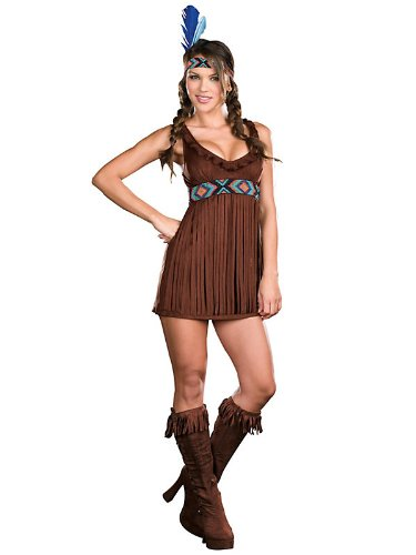 Dreamgirl-International-Womens-Tribal-Trouble-Indian-Costume-Brown-Small-0