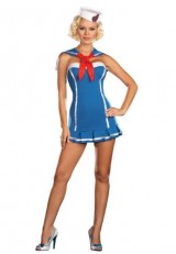 Dreamgirl-Womens-Sailor-Stormy-Sky-Adult-Costume-Blue-X-large-0