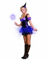 Dreamgirl-Womens-Switch-Witch-Peasant-Style-Dress-BlackPurple-Medium-0