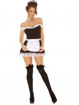 Elegant-Moments-Womens-Plus-Size-Sexy-Maid-Black-MediumLarge-0
