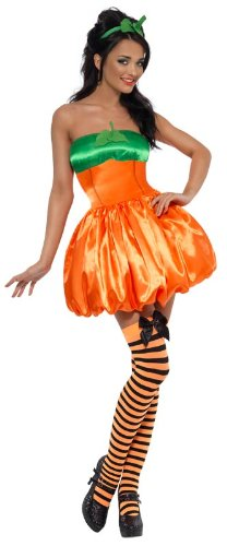 Fever-Sexy-Pumpkin-Costume-OrangeGreen-Small-0