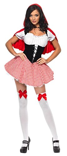 Fever-Womens-Red-Riding-Hood-RedWhite-Large-0