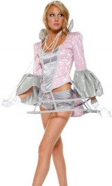 Forplay-Womens-Belle-Of-The-Ball-Adult-Sized-Costumes-Grey-SmallMedium-0