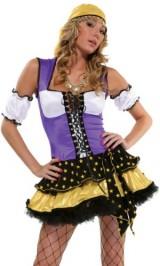 Forplay-Womens-Good-Fortune-Adult-Sized-Costumes-Purple-MediumLarge-0