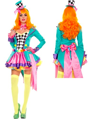 Hatter-Hottie-Adult-Womens-Costume-MediumLarge-0