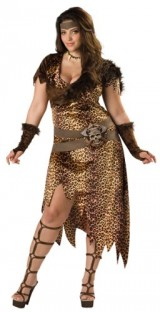 In-Character-Lady-Barbarian-Jungle-Dress-Sexy-Halloween-Costume-L-0-1