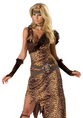 In-Character-Lady-Barbarian-Jungle-Dress-Sexy-Halloween-Costume-L-0