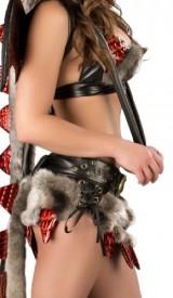 J-Valentine-Womens-Faux-Fur-Hot-Stuff-Dragon-Sexy-Halloween-Costume-Small-BlackRed-0-0