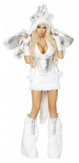 J-Valentine-Womens-Pegasus-Unicorn-Sexy-Halloween-Complete-Costume-Small-White-0-0