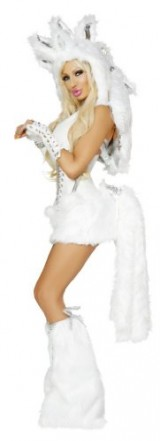 J-Valentine-Womens-Pegasus-Unicorn-Sexy-Halloween-Complete-Costume-Small-White-0-2