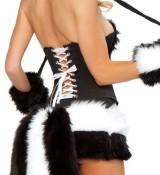 J-Valentine-Womens-Sexy-Flower-Costume-7-Piece-Complete-Set-Naughty-Skunk-L-0-2