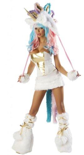 J-Valentine-Womens-White-Unicorn-Sexy-Halloween-Complete-Costume-Small-White-0