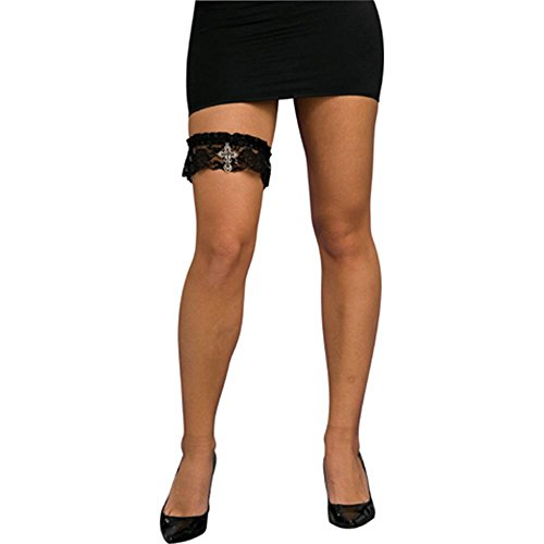 Lace-Leg-Garter-with-Cross-Charm-0