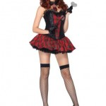 Leg-Avenue-Costumes-3PcAcademy-Cutie-Corset-with-Crest-Appliqu-Skirt-Tie-Neck-Piece-RedBlack-Medium-0