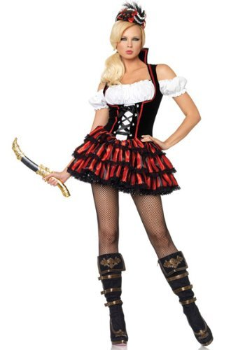 Leg-Avenue-Womens-Shipwreck-Pirate-Dress-Multi-Small-0