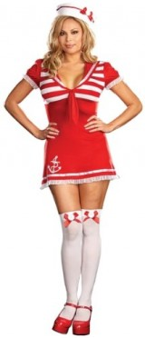 New-Sexy-Sailor-Girl-Uniform-Adult-Halloween-Costume-Womens-US-XL-14-16-0-2