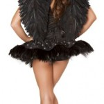 Roma-Costume-2-Piece-Sexy-Swan-As-Shown-Black-Small-0-0
