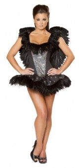 Roma-Costume-2-Piece-Sexy-Swan-As-Shown-Black-Small-0