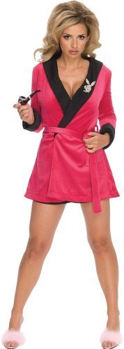 Rubies-Costume-Co-Womens-Playboy-Girlfriend-Robe-Costume-Multicoloured-One-Size-0